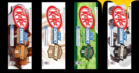 Nestle Kit Kat New Flavours